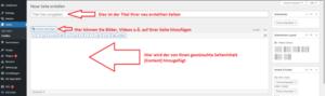 Wordpress Menü erstellen - Schritt für Schritt Anleitung2