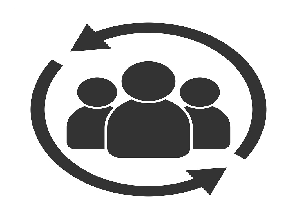 Customer,Interaction,Icon.,Client,Returning,Or,Renention,Symbol