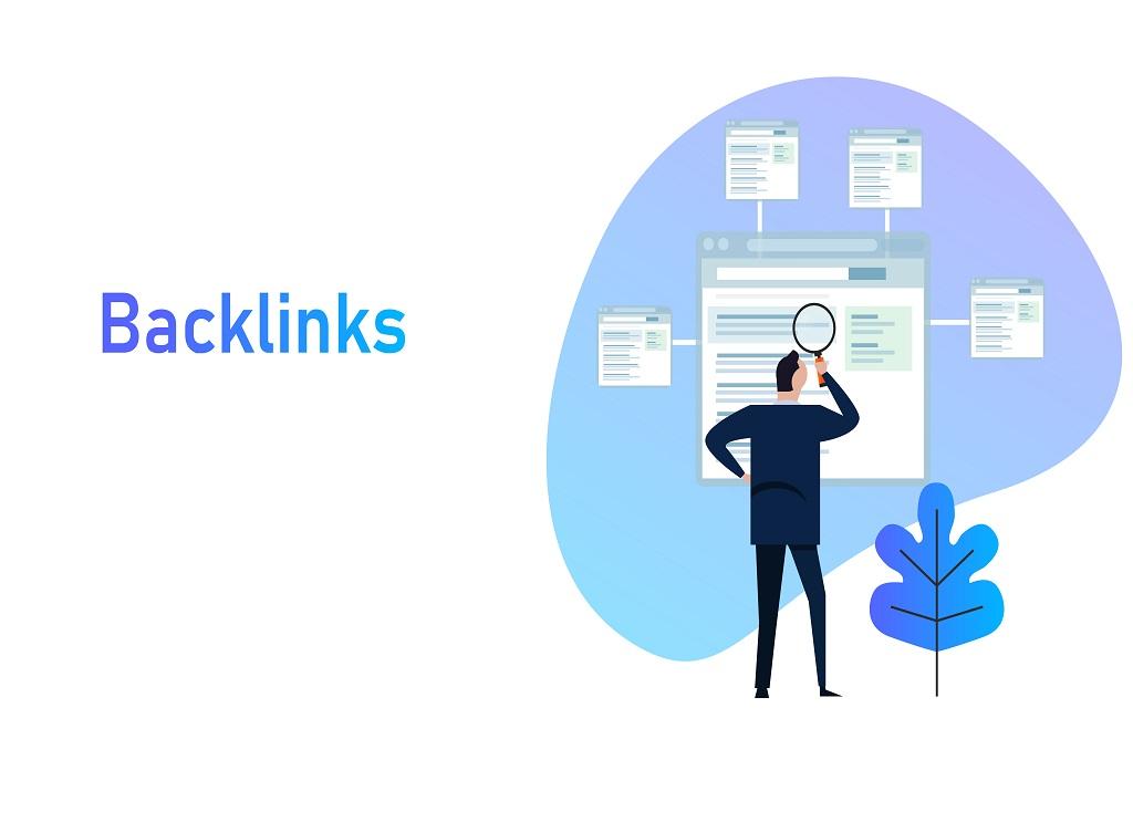 Backlinks,Or,Link,Building.,Seo,Concept.,Vector,Illustration