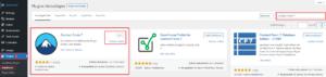 Wordpress Plugin Contact Form 7 installieren und aktivieren
