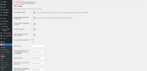Wordpress Plugin Umfrage Main Settings