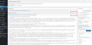 Wordpress Seite duplizieren per Text Editor