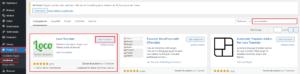 Wordpress Übersetzungs Plugin Loco Translate Installation