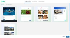 Wordpress Umfrage Plugin Design wählen
